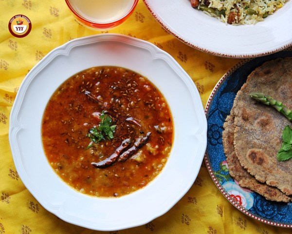 Tadka Masoor Dal - Tempered Red Lentils | Your Food Fantasy