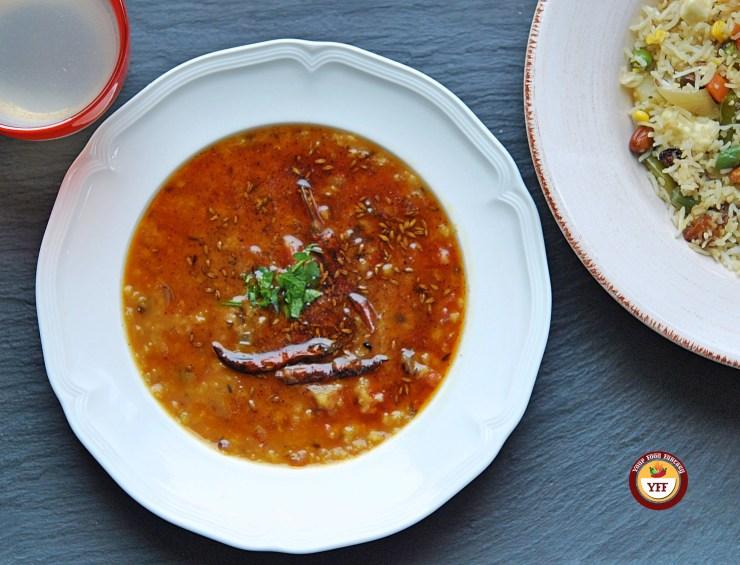 Tempered Red Lentils - Tadka Masoor Dal Recipe   Your Food Fantasy