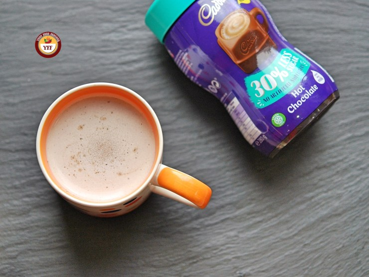 Cadbury's Hot Chocolate Review | YourFoodFantasy.com
