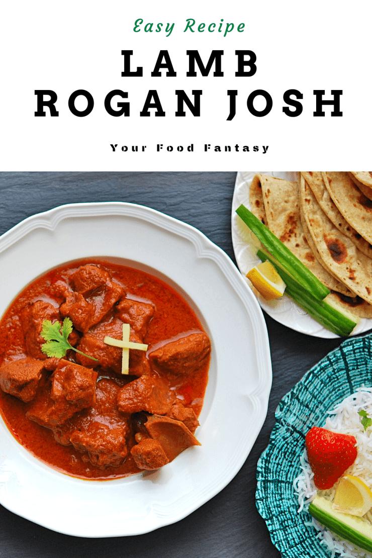 Lamb Rogan Josh Recipe - Your Food Fantasy