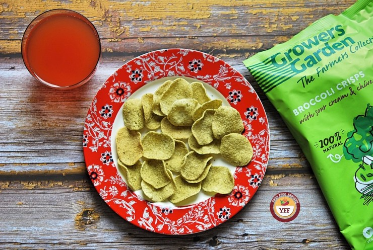 Growers Broccoli Crisps review | Your Food Fantasy