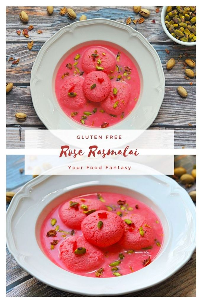 Rose Rasmalai, rasmalai Recipe, Indian Mithai | Your Food Fantasy