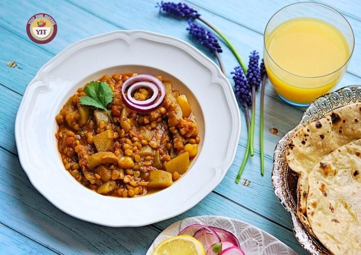 Chana Lauki Dal Curry Recipe | Your Food Fantasy