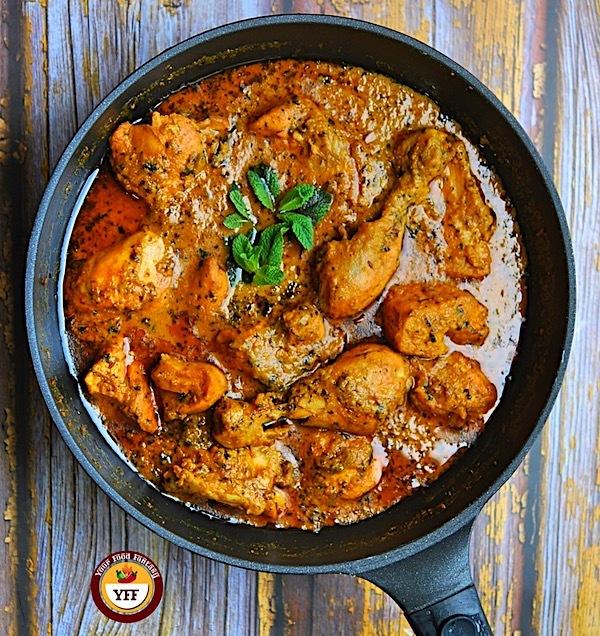 Methi Chicken Curry Recipe - Chicken with Fenugreek | Your Food Fantasy