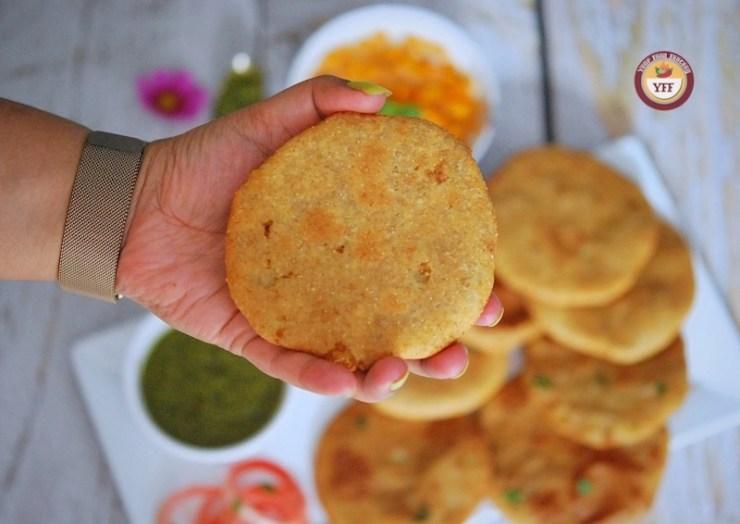 Aloo Kachori - Potato Stuffed Kachori | Your Food Fantasy