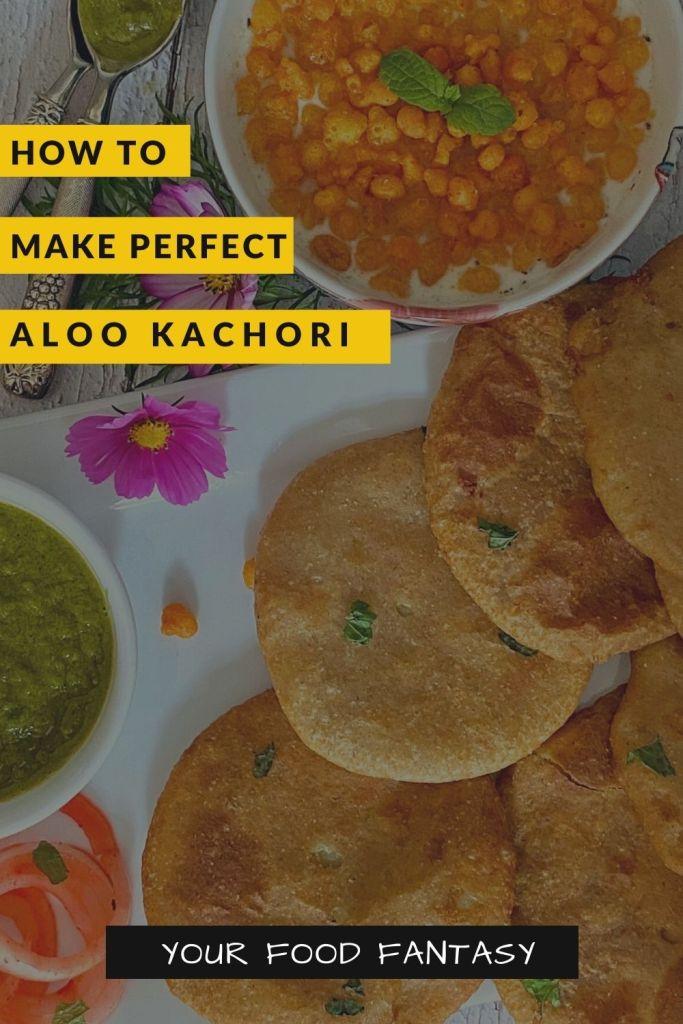 Aloo Kachori Recipe - Your Food Fantasy