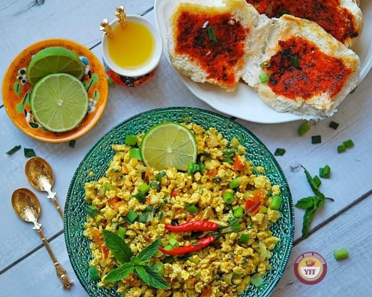 Egg Bhurji Recipe | Anda Bhurji Recipe | Your Food Fantasy