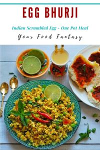 Egg Bhurji Recipe | Your Food Fantasy