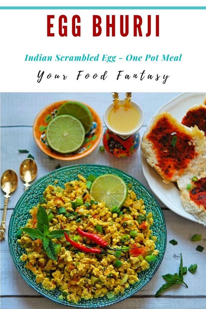 Egg Bhurji Recipe | Your Food Fantasy