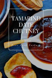Tamarind Date Chutney Recipe   Your Food Fantasy