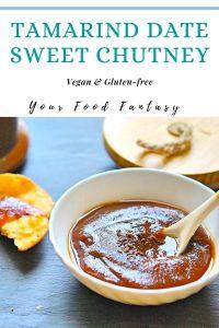 Tamarind Date Sweet Chutney