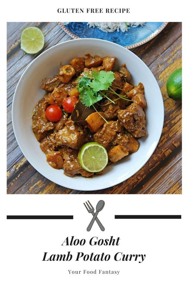 Aloo Gosht - Lamb Potato Curry