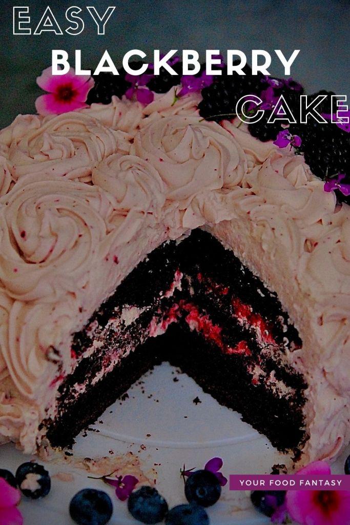 Easy Blackberry Cake Recipe