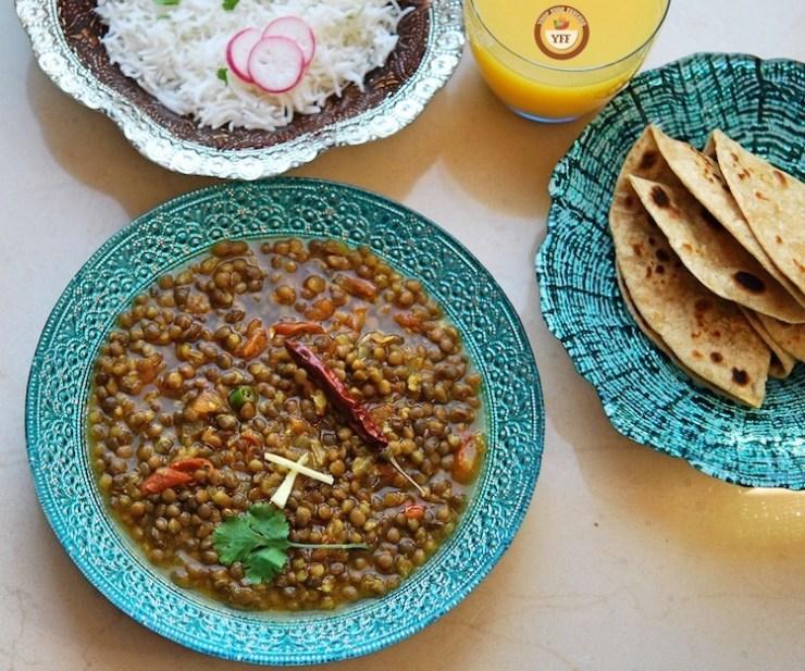 Whole Masoor Dal Recipe