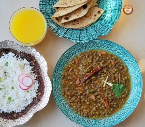 Whole Masoor Dal recipe - YourFoodFantasy.com