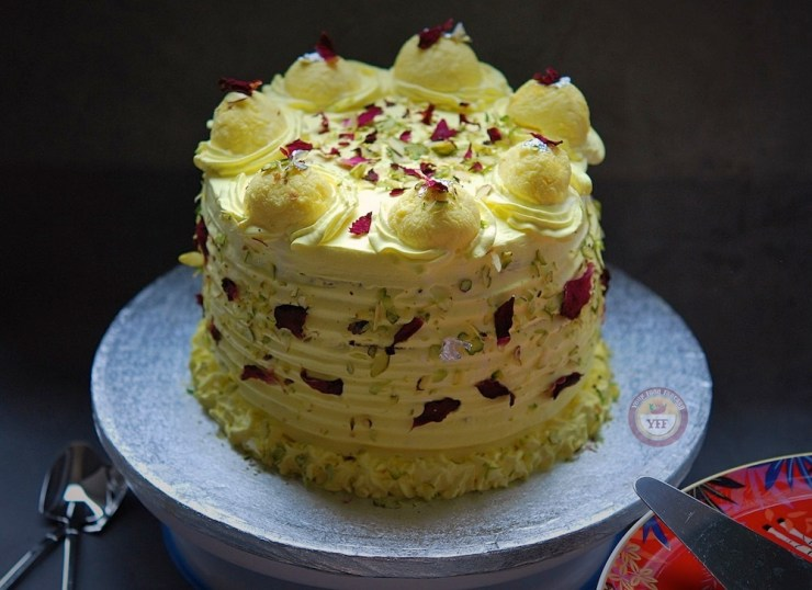 Recipe of rasmalai Cake - how to make rasmalai cake