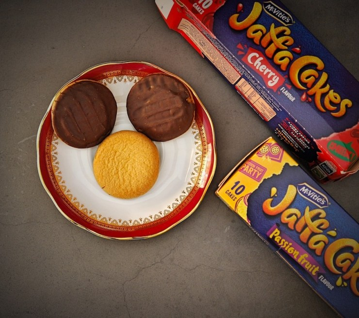 Jaffa Cakes Cherry and Passion Fruit Review