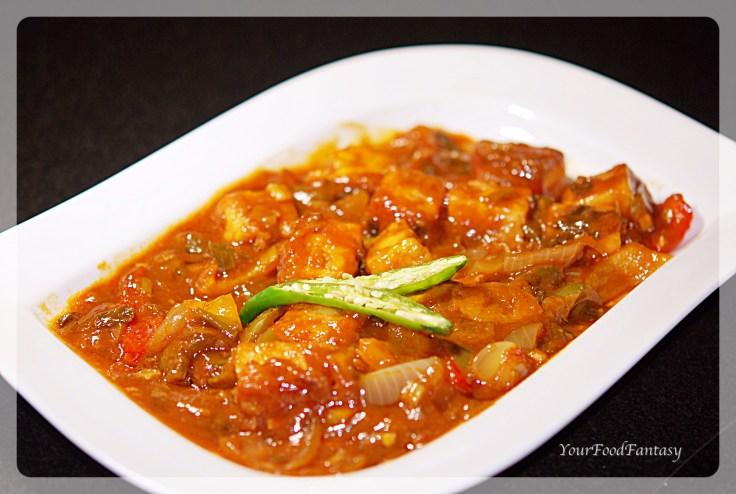 Chilli-paneer recipe at-yourfoodfantasy.com by meenu gupta