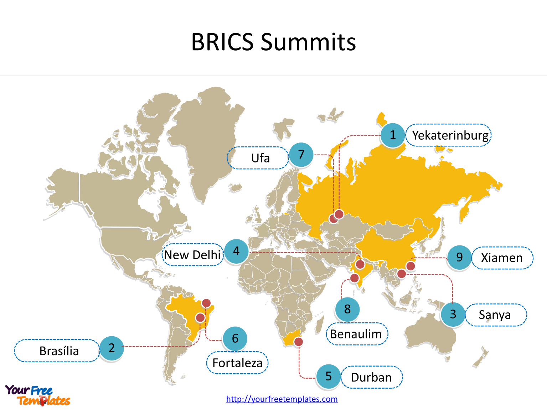 Create Maps For Brics Template