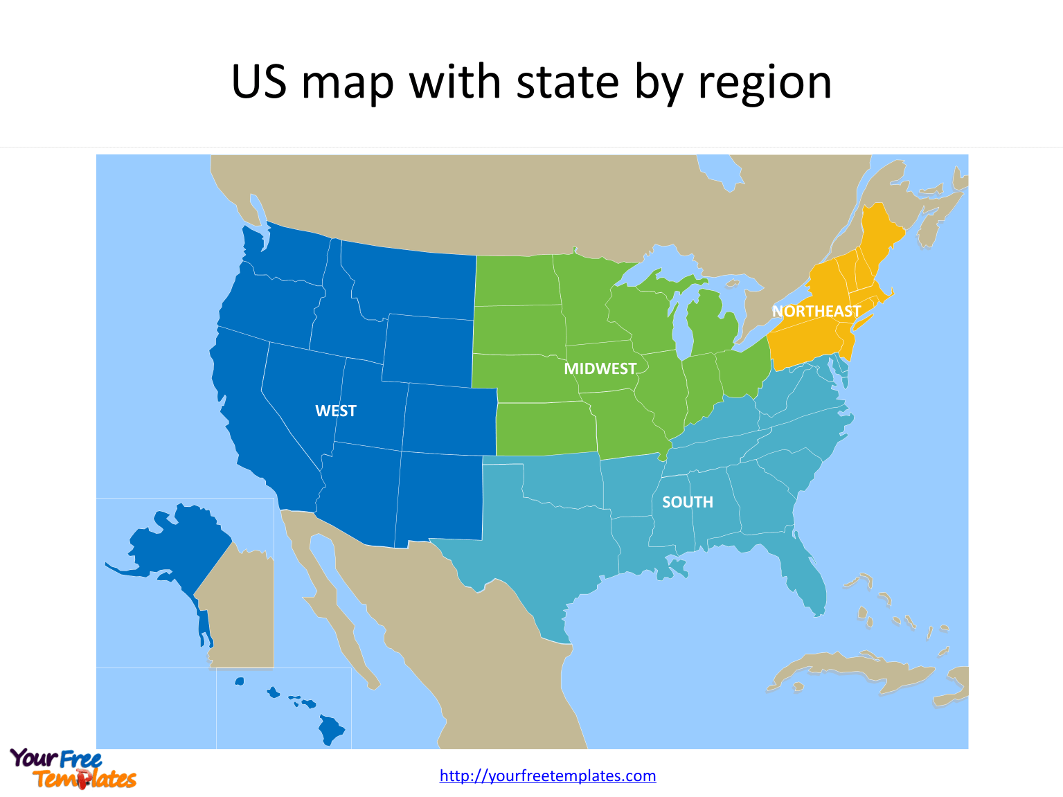 Free Us Map With States