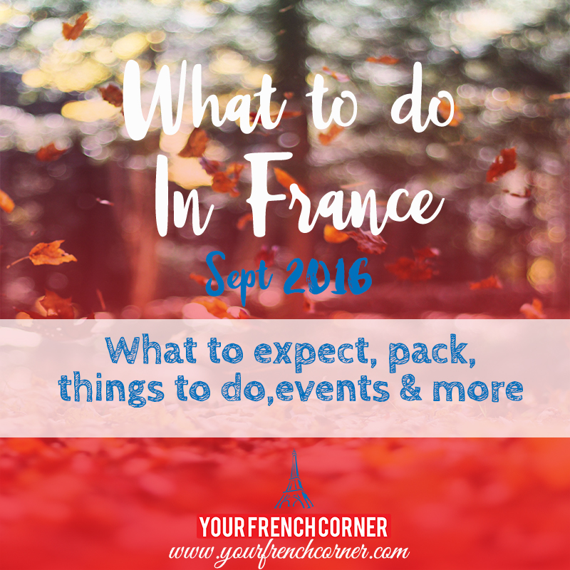 What To Do In France In September