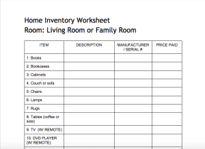 Image Result For Furnishing An Apartment Checklist