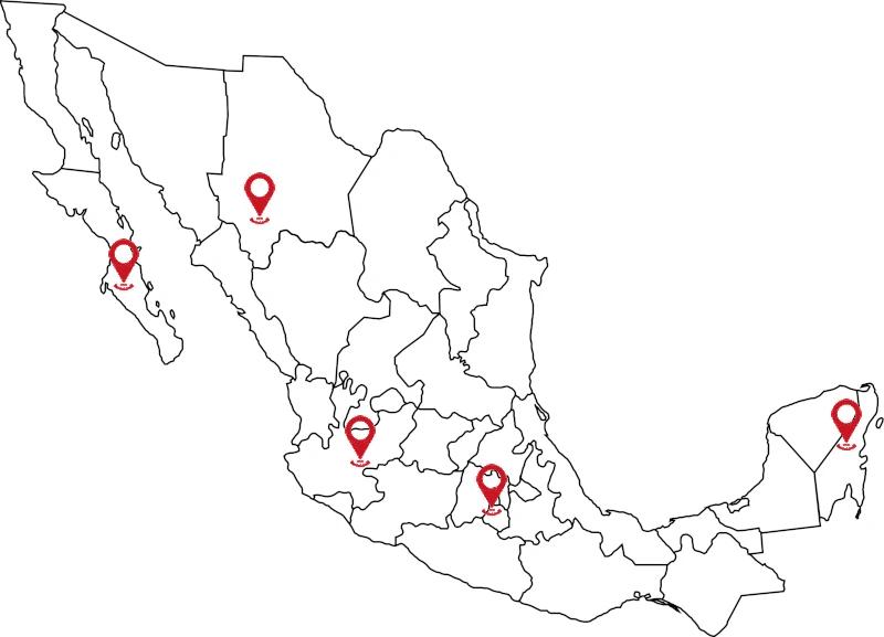 Mexico Map