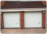 Image of 2 Hormann Sectional garage doors