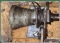 Broken Cones and Cables. Garage Door Repairs