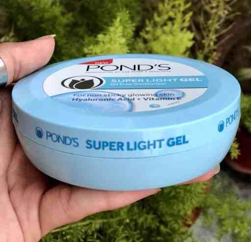 ponds super light gel review