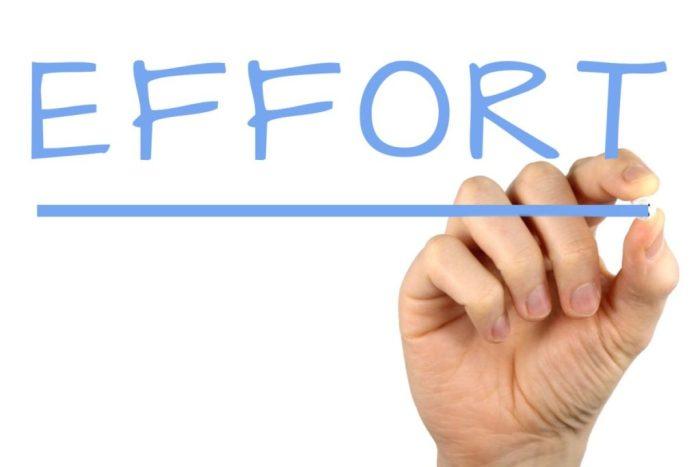 formula for success effort