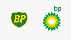 BP logo - from old fashion to greenwashing