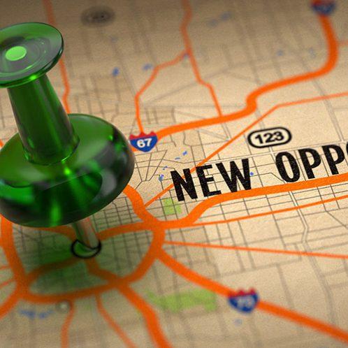 Grow business through new markets