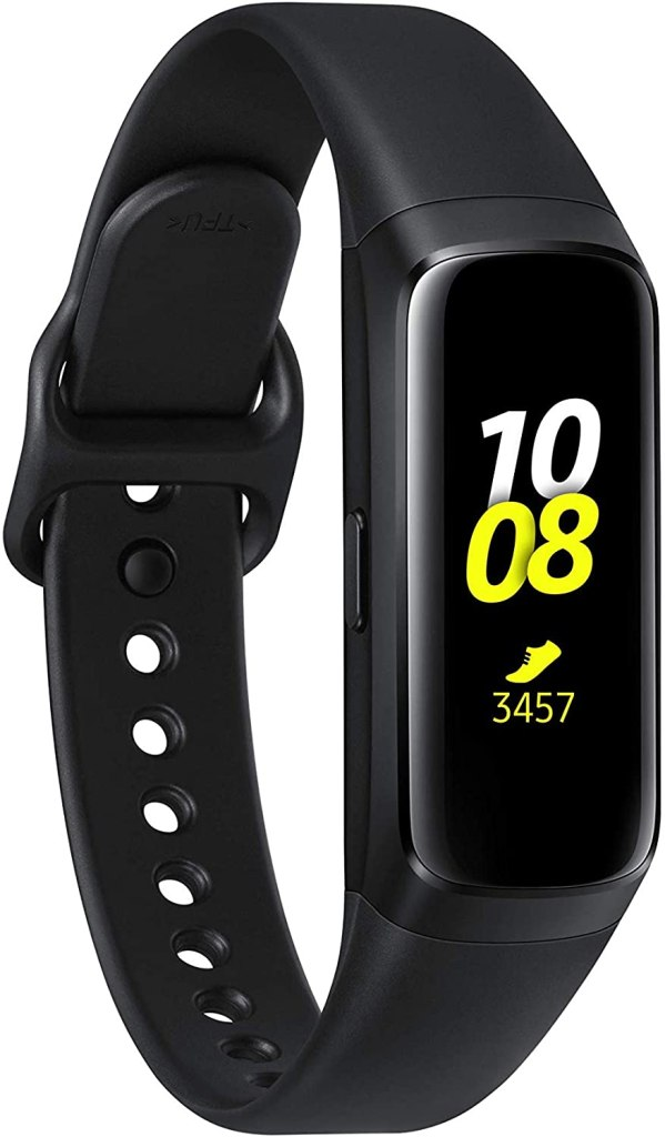 Front image of the Samsung Galaxy Fit activity bracelet