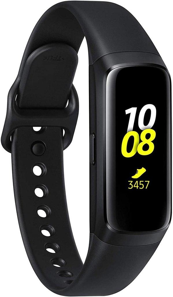 Imagen frontal de la pulsera de actividad Samsung Galaxy Fit