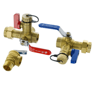 takagi tankless water heater parts - isolation valves