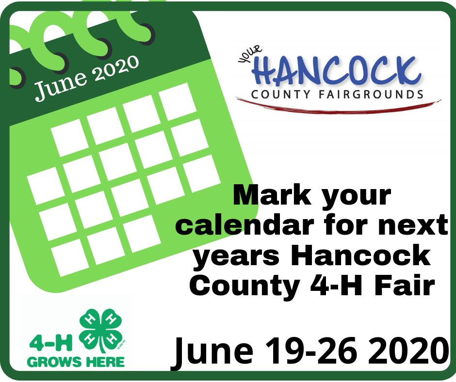 Hancock County 4-H Agricultural Association – Where People Meet