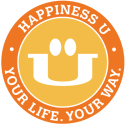Happiness U logo monthly membership