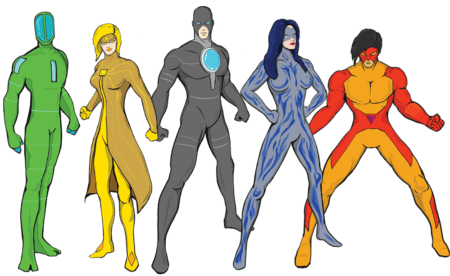 Master Your Superpowers characters
