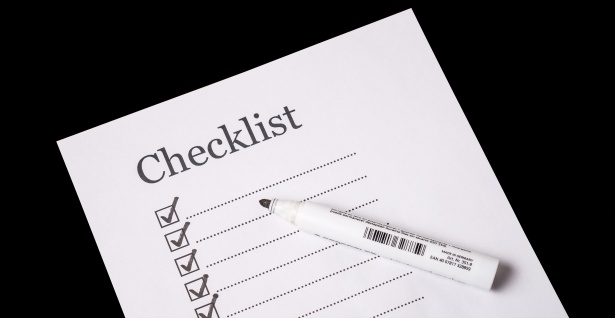 This is a printable preventive checklist for a patient with high blood pressure