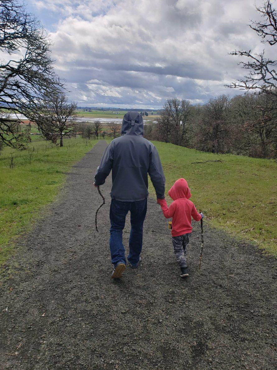 Nature Walk with Dad Photographer: Kalika Black