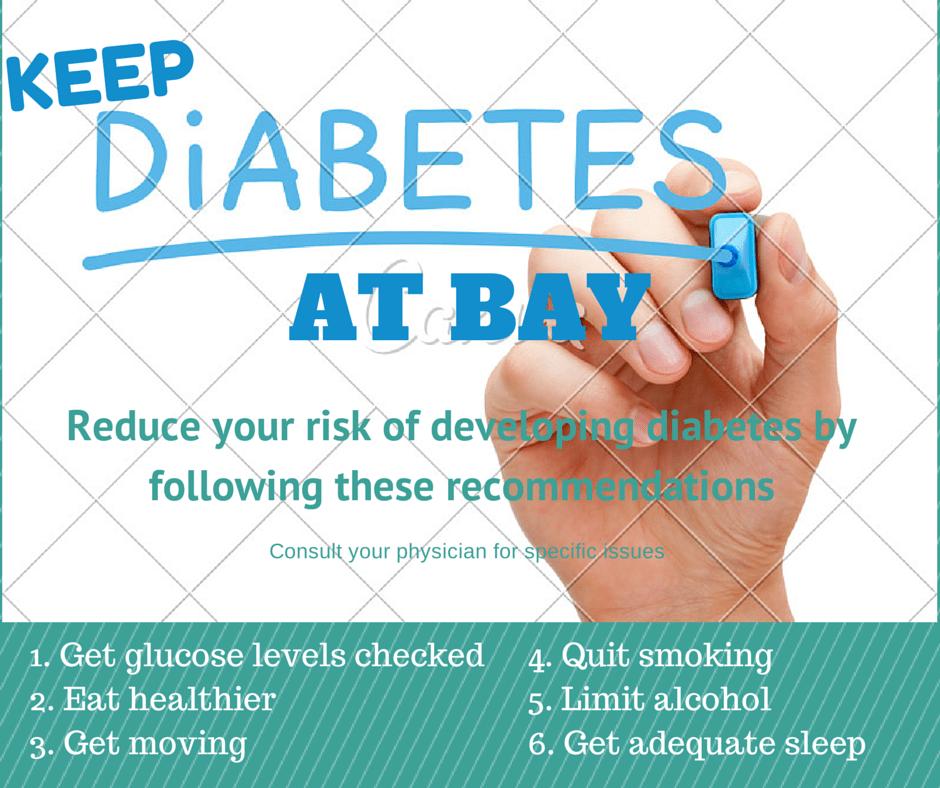 Keep Diabetes At Bay