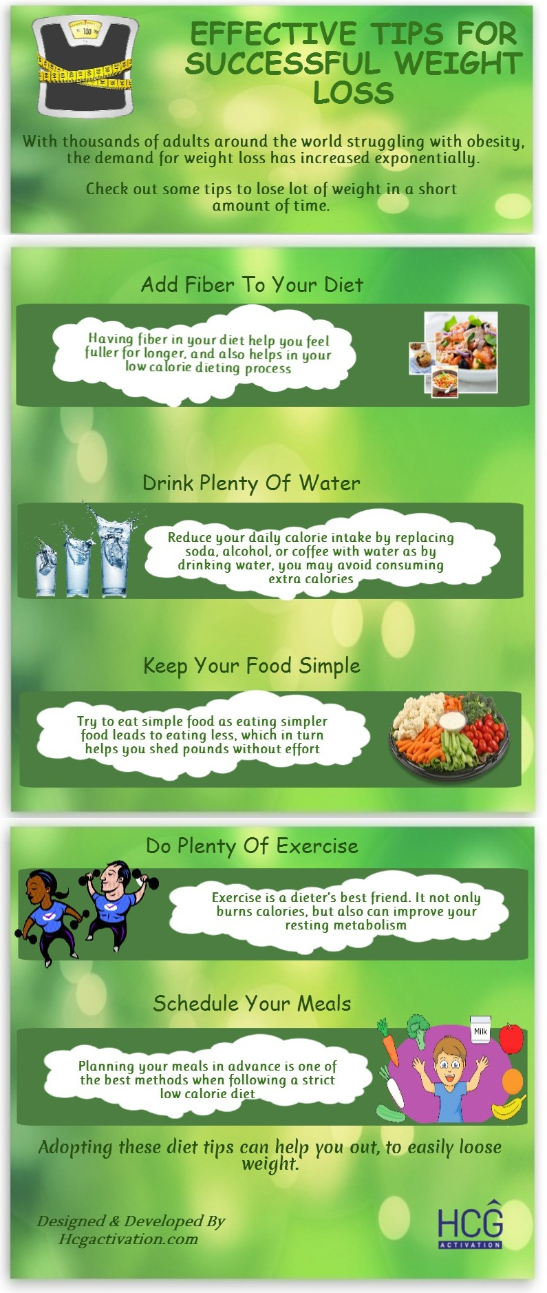 Effective Tips For Successful Weight Loss