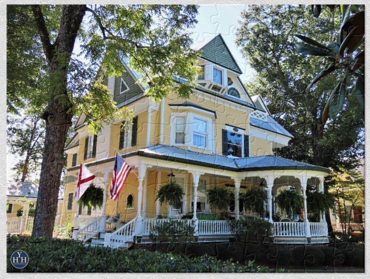 Talladega, Alabama Queen Anne Puzzle Historic House