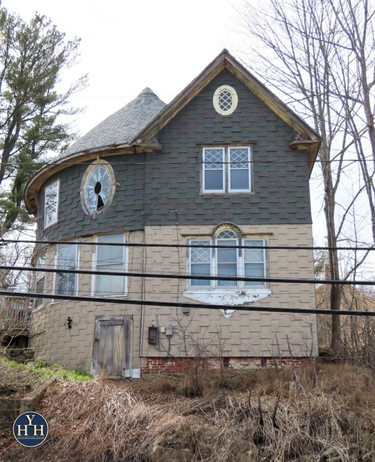 queen anne style house neglected restoration almost gone