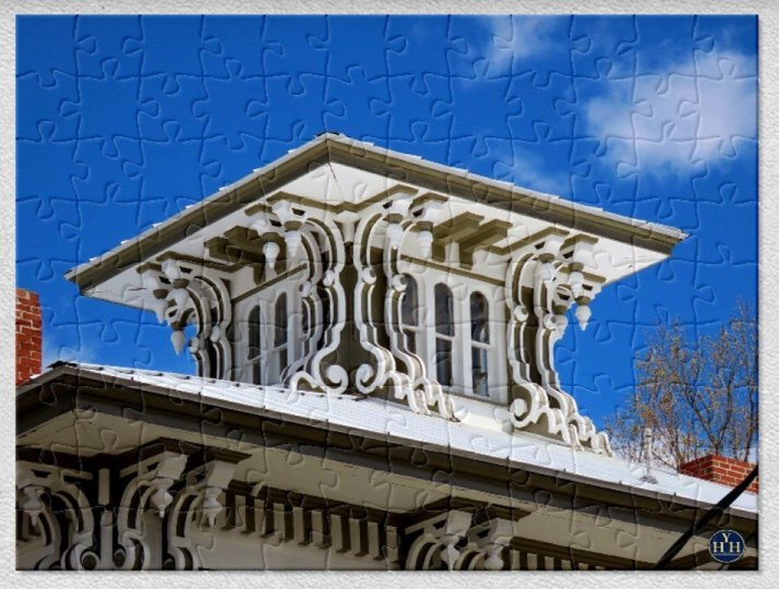 Exuberant Italianate Belvedere Puzzle Historic House