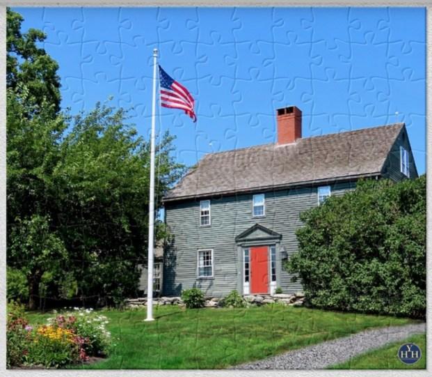 1756 Whipple Farmhouse Puzzle Historic House