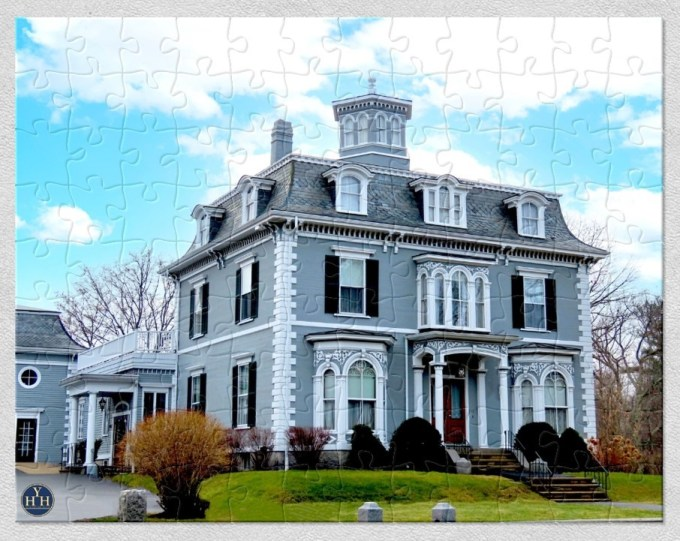 Stately Second Empire Puzzle Historic House