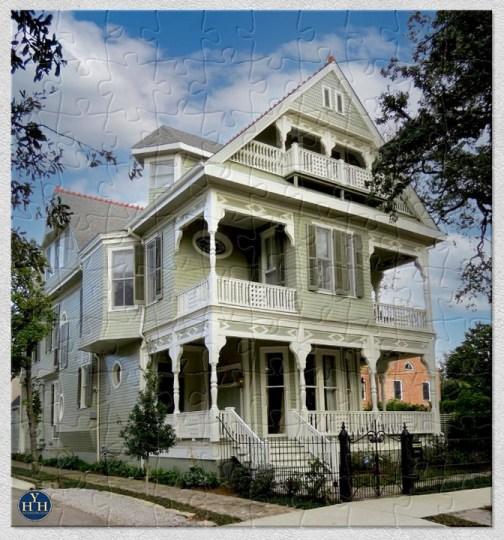 Garden District Queen Anne Puzzle Historic House