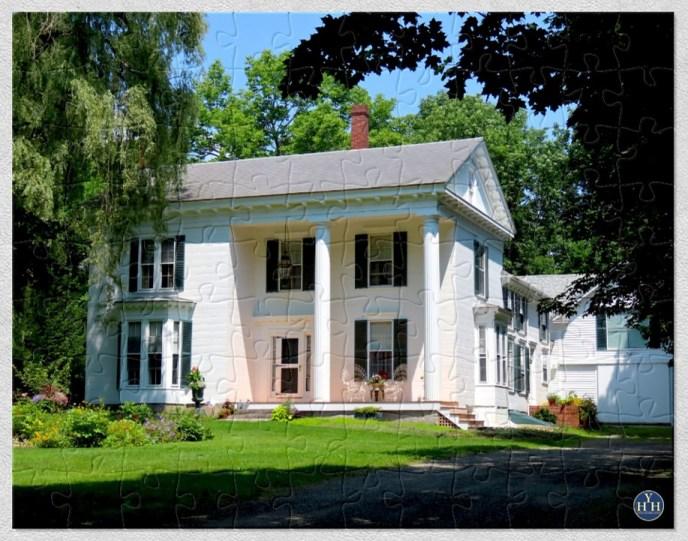 Historic House Asymmetrical Greek Revival Puzzle